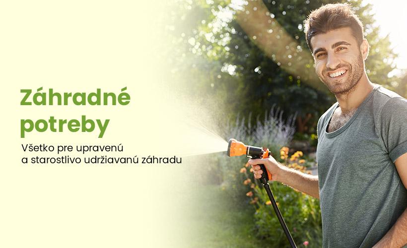 Široká ponuka záhradkárskych potrieb