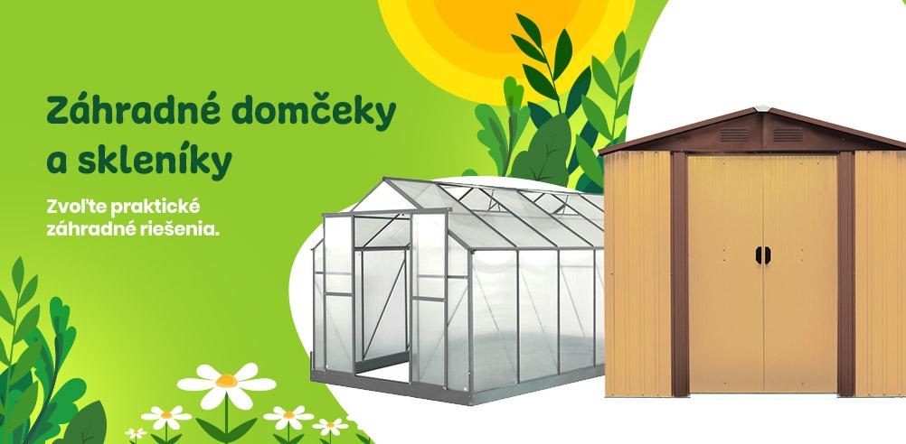 Inlea - Záhradné domceky