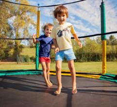 Chystáme sa na leto: Súčiastky pre trampolínu