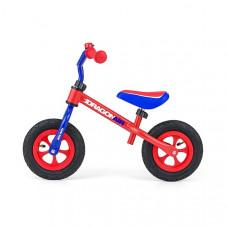 """Detské cykloodrážadlo Milly Mally Dragon AIR 10"""" - fialovo-červené Preview"""