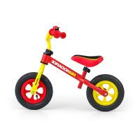 """Detské cykloodrážadlo Milly Mally Dragon AIR 10"""" - žlto-červené"""
