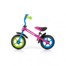 "Detské cykloodrážadlo Milly Mally Dragon 10"" - multicolor Preview"