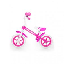 "Detské cykloodrážadlo Milly Mally Dragon 10"" - pink Preview"