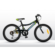 """VEDORA chlapčenský bicykel Intro 200 20"""" - čierny 2019"""