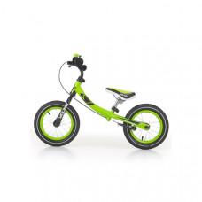 """Detské cykloodrážadlo 2v1 Milly Mally Young 12"""" - zelené Preview"""