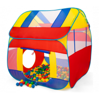 Kiduku detský stan s loptami KZ-011