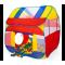 Kiduku detský stan s loptami