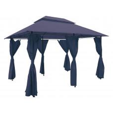 InGarden Záhradný altánok 3 x 4 x 2,75 m - modrý Preview
