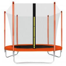 AGA SPORT FIT trampolína 250 cm s vnútornou ochrannou sieťou orange Preview