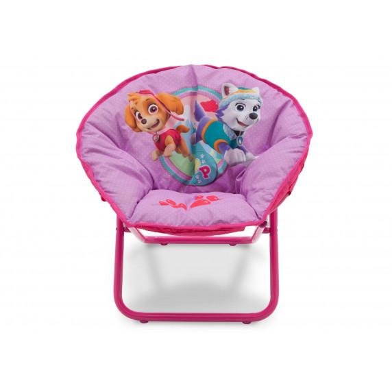 Detská rozkladacia stolička Tlapková patrola Pink
