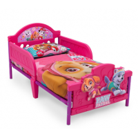Detská posteľ Paw patrol - pink