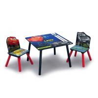 Detský stolík so stoličkami Cars 2