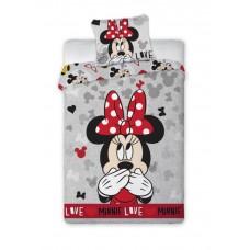 Detské postelné obliečky Minnie Mouse  - Love Preview