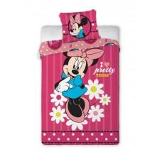 Detské postelné obliečky Minnie Mouse - Flowers Preview