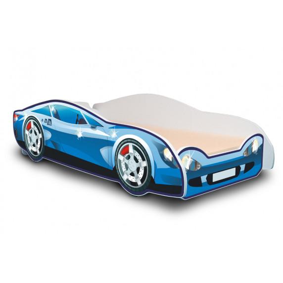 Detská posteľ Auto Speedy modrá