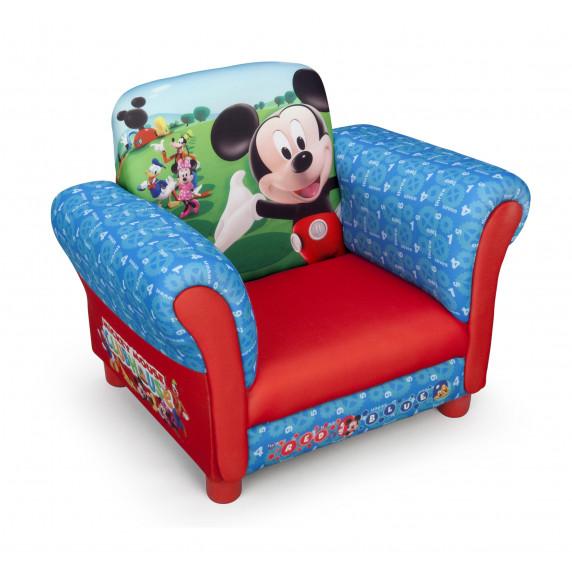 Detské čalúnené kresielko Mickey Mouse