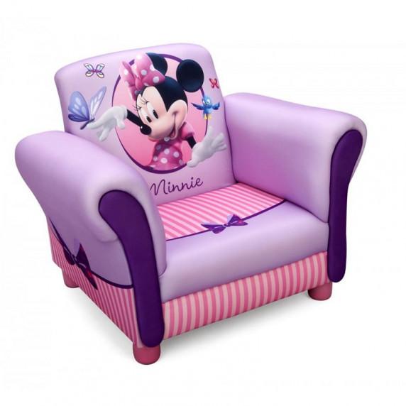 Detské čalúnené kresielko Minnie Mouse Club