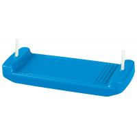 Plastová hojdačka rovná Inlea4Fun - Modrá
