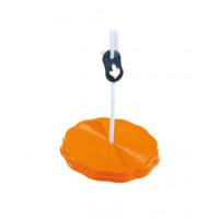 Hojdačka tanier Inlea4Fun - Oranžová