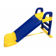 Inlea4Fun šmyklavka s madlom 140 cm  - modrá Preview