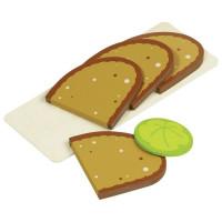Nakrájaný chlieb s podnosom Goki