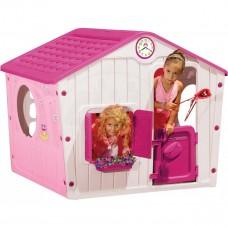 Inlea4Fun Village ružový detský záhradný domček Preview