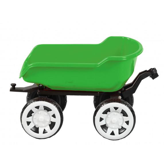 Príves na traktor Inlea4Fun Big Farmer - Zelená