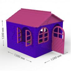 Inlea4Fun DANUT Záhradný domček 129x129x120 cm - Fialovy Preview