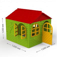 Inlea4Fun DANUT Záhradný domček 129x129x120 cm -  Zelený Preview
