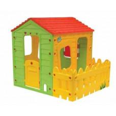 Inlea4Fun FARM detský záhradný domček s ohrádkou Preview