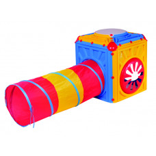 Inlea4Fun plastový domček s farebným tunelom Preview