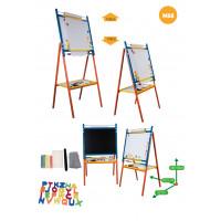 Inlea4Fun detská otočná tabuľa MS8