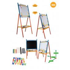 Inlea4Fun detská otočná tabuľa MS8 Preview