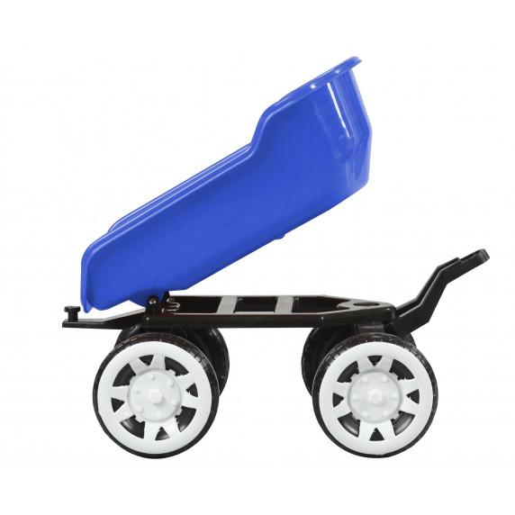 Príves na traktor Inlea4Fun Big Farmer - Modrá