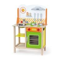 Inlea4Fun detská drevená kuchynka Fantastic