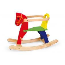 Inlea4Fun drevený hojdací koník Preview