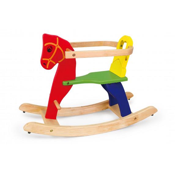 Inlea4Fun drevený hojdací koník