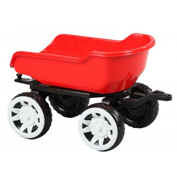 Príves na traktor Inlea4Fun Big Farmer - Červená