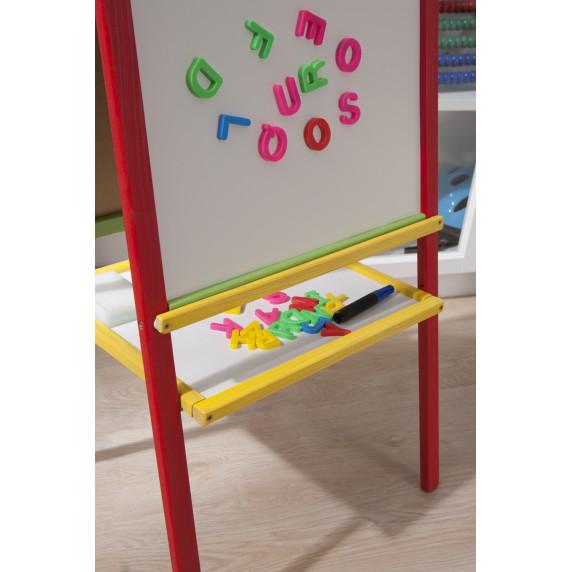 Inlea4Fun farebná detská magnetická tabuľa