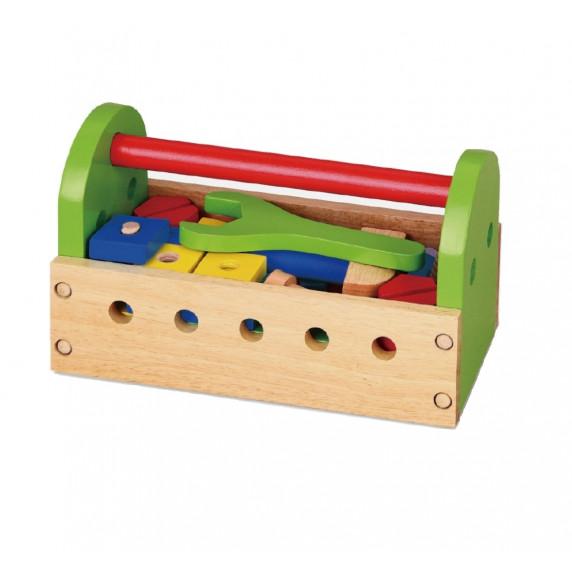 Inlea4Fun drevené náradie v debničke