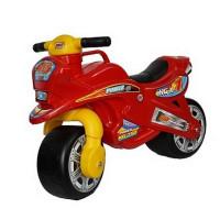 Inlea4Fun odrážadlo v podobe motorky - červená