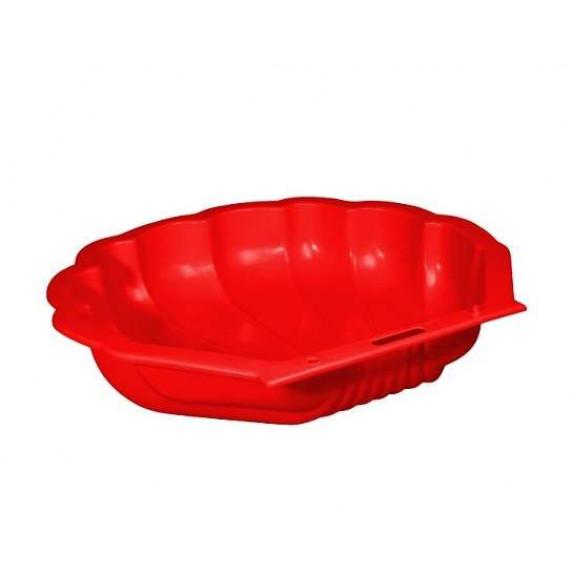 Inlea4Fun pieskovisko Mušla - červené