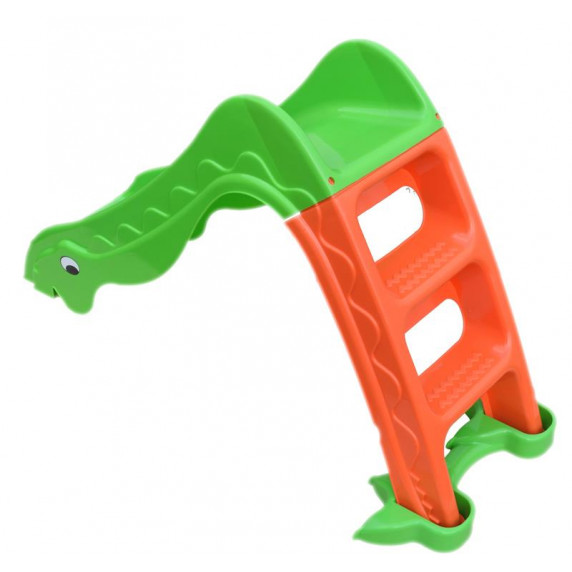 Inlea4Fun šmykľavka Dino zelená