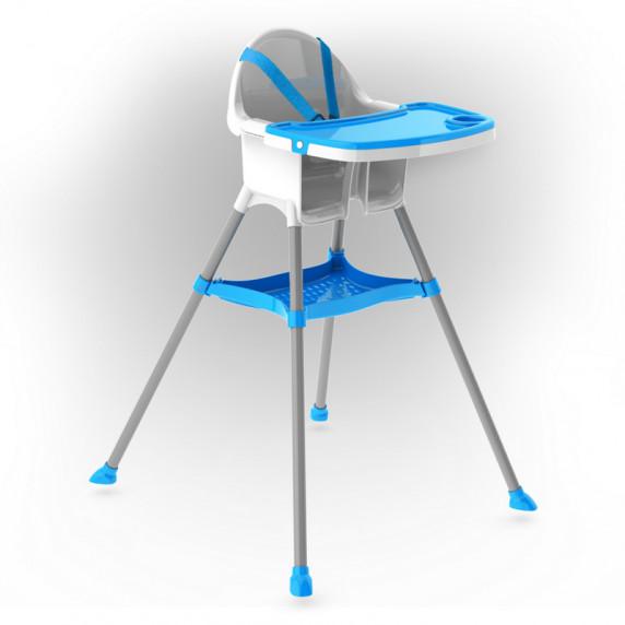 Inlea4Fun jedálenská stolička - modrá