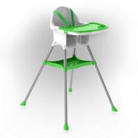 Inlea4Fun jedálenská stolička - zelená