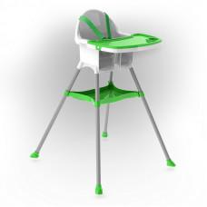 Inlea4Fun jedálenská stolička - zelená Preview