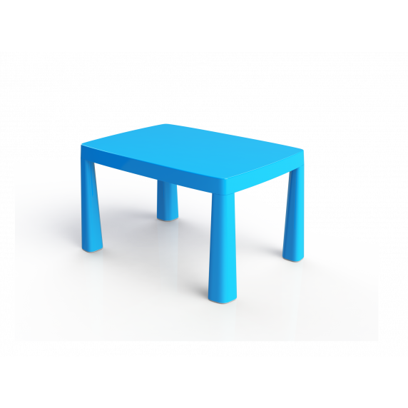 Umelohmotný stolík pre deti so vzdušným hokejom Inlea4Fun EMMA - červený