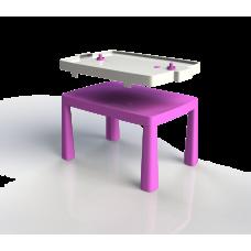 Inlea4Fun EMMA Umelohmotný stolík pre deti so vzdušným hokejom - ružový Preview