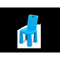 Inlea4Fun EMMA Umelohmotná stolička - modrá