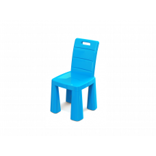 Inlea4Fun EMMA Umelohmotná stolička - modrá Preview
